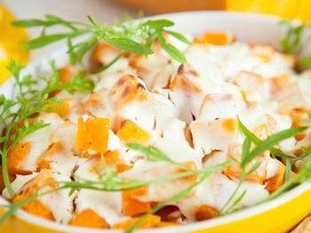 Запеканка из тыквы и сыра