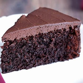 Свекольный бисквит с какао