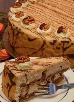 Торт з нуги