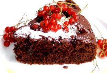 Буряково-шоколадний торт