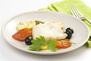 Белая рыба по‑итальянски