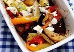 Овощное рагу в духовке под сыром