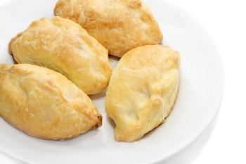Картофельные пироги с творогом