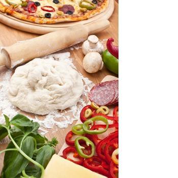 Тонкое тесто для пиццы