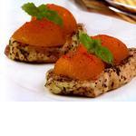 Свинина в абрикосовому соусі