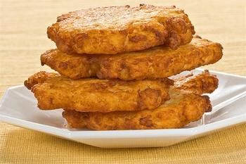 Картофельные лепешки с фетой