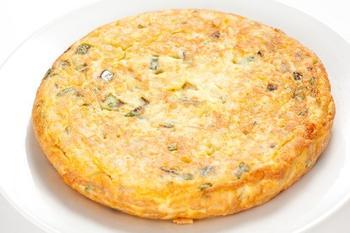 Тортилья с цукини и голубым сыром