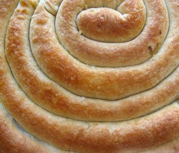 Кольцевой пирог с двойной начинкой