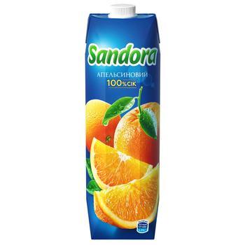 Сок Sandora апельсиновый 950мл - купить, цены на Ашан - фото 1