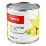 Кукуруза сахарная Marka Promo консервоированная 420г