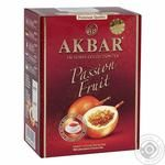 Black and green ceylon leaf tea Akbar Passion Fruit 100g