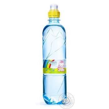 Вода Аквуля спорт негазированная детская 500мл