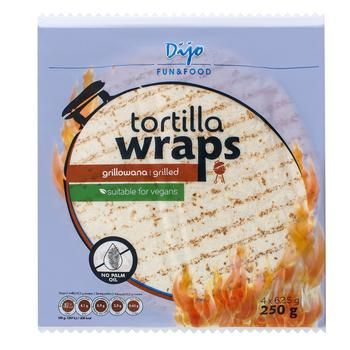 Dijo Grill Wheat Tortilia 250g