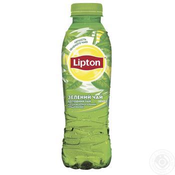Холодный зеленый чай Lipton 0,5л - купить, цены на Novus - фото 1
