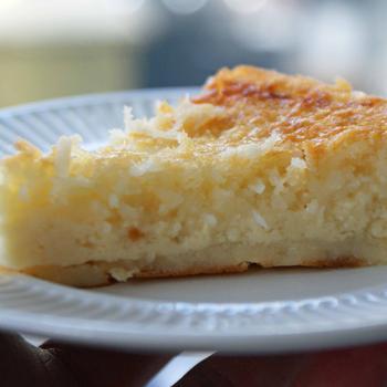 Апельсиново-кокосовий пасхальний пиріг