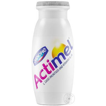 Продукт кисломолочний Danone Актимель солодкий без наповнювача 1,6% 100г - купити, ціни на МегаМаркет - фото 1