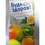 Нектар АВС Будь здоров! из смеси фруктов с мякотью тетрапакет 1000мл Белоруссия