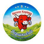 Сир Весела Корівка вершковий плавлений 8 порцій 45% 140г