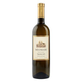 Meomari Tbilisuri white semi-dry wine 12% 0,75l