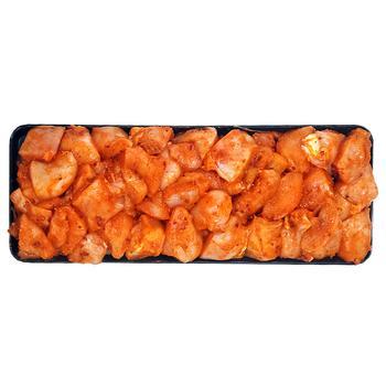 Шашлык куриный с филе в маринаде Зелень и лук охлажденный - купить, цены на Varus - фото 1