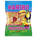 Цукерки жувальні Haribo Тропічні фрукти 100г