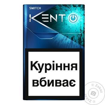Сигареты Kent iSwitch Silver - купить, цены на СитиМаркет - фото 1