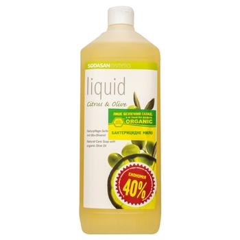 Sodasan Liquid Soap with Citrus and Olive Oils 1l - buy, prices for CityMarket - photo 2