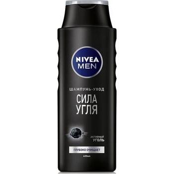 Шампунь-догляд Nivea Men Сила вугілля 400мл - купити, ціни на Novus - фото 1