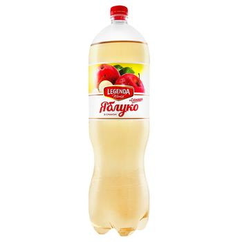 Напиток газированный Legenda со вкусом яблоко + эхинацея 2л - купить, цены на Фуршет - фото 1