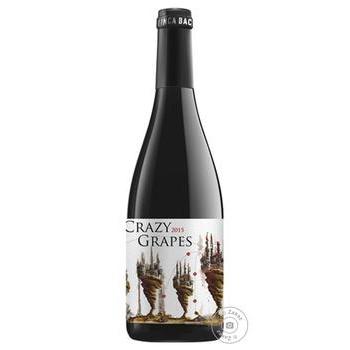 Вино Finca Bacara S.L. Crazy Grapes Monastrell Jumilla DO 14% 0,75л