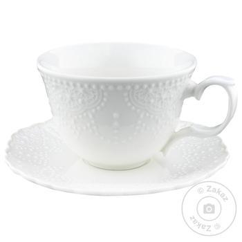 Чашка Krauff Queen Elizabeth II с блюдцем 250мл