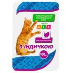 Корм Чистая ВыгоДА! для взрослых кошек с индейкой 100г