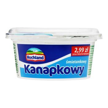 Крем-сыр Hochland Kanapkowy сливочный 130г