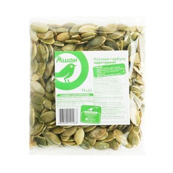 Auchan Pumpkin seeds peeled dried 75g