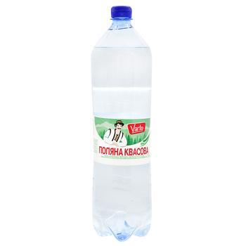 Вода Varto Поляна Квасова минеральная лечебная столовая сильногазированная 1,5л