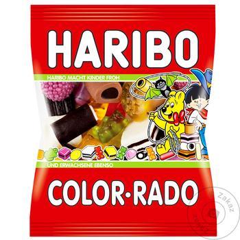 Конфеты Haribo Color-Rado фруктовые жевательные 100г