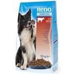 Корм сухий Reno для собак яловичина 10кг
