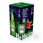 Heineken Gift Set light beer 5% 4*0,5l glass bottle