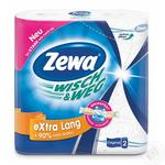 Zewa Wisch&Weg Extra Lang Design Kitchen Paper Towels 2rolls