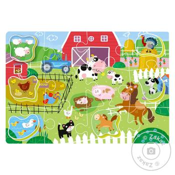 DoDo Puzzle-sorter Farm 18 elements - buy, prices for MegaMarket - image 2