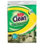 Салфетки Varto Clean вискозные 5шт