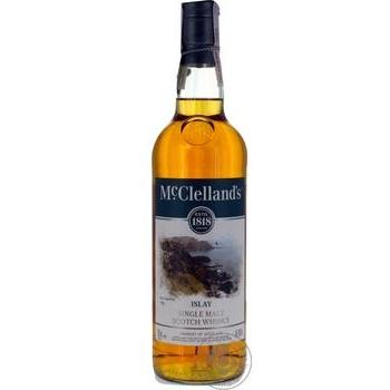 Віскі McClelland's 40% 0,7 - купити, ціни на Ашан - фото 1