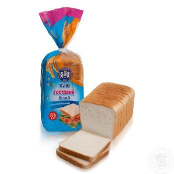 Хліб тостовий Кулиничі Європейський білий 330г - купити, ціни на Novus - фото 1