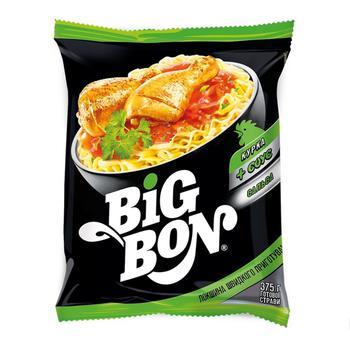 Big Bon Chicken Instant Noodles with Salsa Sauce 75g