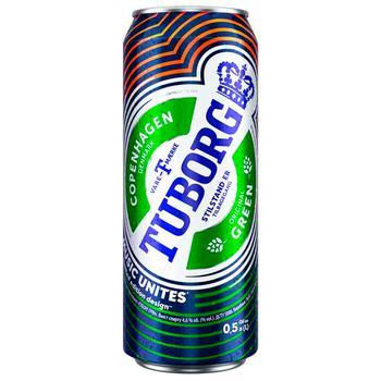 Tuborg Green Light Beer 4,6% 0,5l