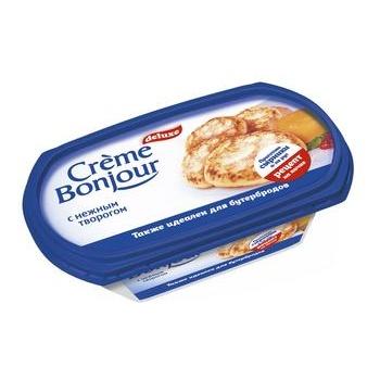 Крем-сыр Крем Бонжур с нежным творогом 26% 200г