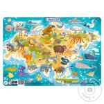 DoDo Puzzle with Frame Eurasia 53 elements - buy, prices for MegaMarket - image 1