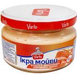 Икра мойвы Varto в соусе с кусочками копченого лосося 180г