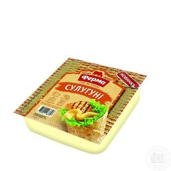 Сыр Ферма Сулугуни мягкий 250г - купить, цены на Ашан - фото 2
