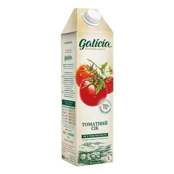 Сік Galicia томатний 1л